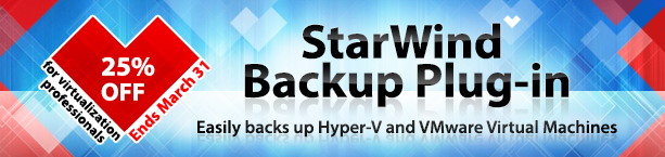 StarWind Backup Plug-in